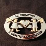 2013 Century of Caring Pin