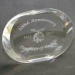 100th Anniversary Crystal