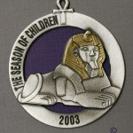2003 Sphinx Ornament