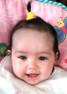Arionna 4 months