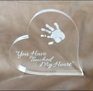 You have touched my heart