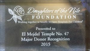 Donor Plaque