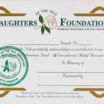 Acknowledgement Cards – In Memory of